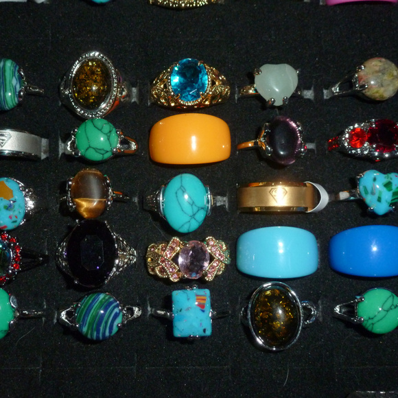 Rings - 4 for $20 - Random Pick- Gemstone Jewelry